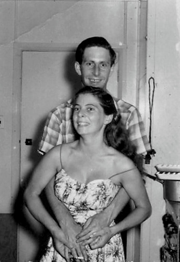 Robin and Lois, mid 1950s.