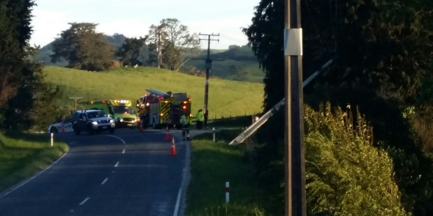 A crash on Kaitemako Rd, Welcome Bay, has cut power 918 residents.