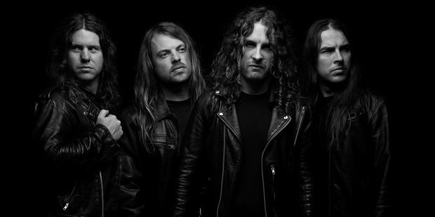 Aussie rockers Airbourne will play three New Zealand shows in January.