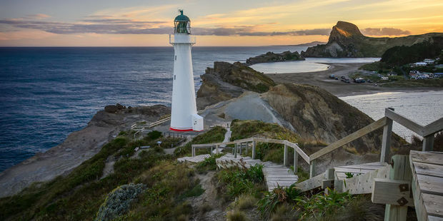 Castlepoint lighthouse lookout. Photo / 123RF