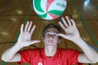 Greg Vukets says a volleyball scholarship to North America next year is an option. Photo / Doug Sherring