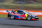 Jamie Whincup of Red Bull Racing Australia during the ITM Auckland SuperSprint. Photo / Supplied