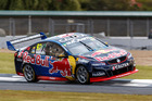 Shane Van Gisbergen of Red Bull Racing Australia during the ITM Auckland SuperSprint. Photo / Supplied