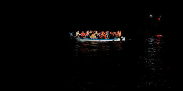 Smugglers are sending out large groups in several ships at once. Photo / AP
