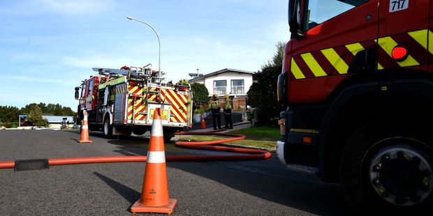 Firefighters have closed off Oceanbeach Rd after reports of a gas leak. Photo/file
