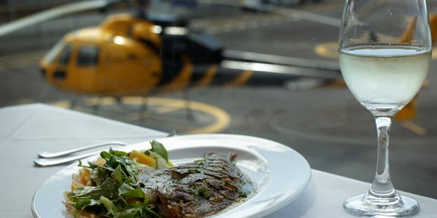 Mikano restaurant at Mechanics Bay where Judge Harvey ate. Photo / Sarah Ivey