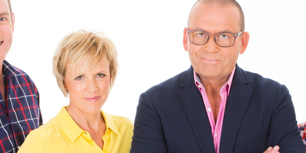 Loading Hilary Barry presented the news alongside Paul Henry at TV3 for a year before her departure in May.