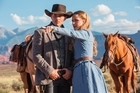 James Marsden and Evan Rachel Wood from Westworld, for TimeOut.