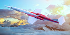 An artist's concept of the Aerion-AS2 in flight. Photo / Aerion