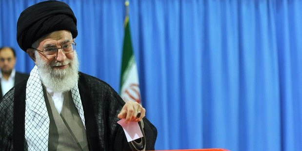 """Ayatollah Ali Khamenei says after watching the US Presidential debates he found Donald Trump and Hillary Clinton's comments """"proof of the destruction of human values in the US."""" Photo / Wikimedia"""