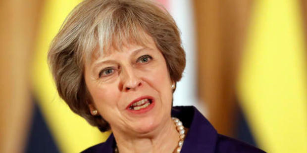 Britain's Prime Minister Theresa May had said she would invoke Article 50 of the EU Treaty by March next year. Photo / AP
