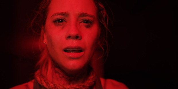 A still image from horror film, The Gallows. Photo / Supplied