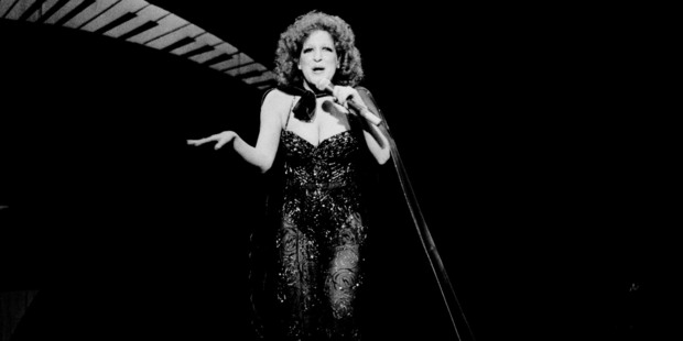 Bette Midler during Bette Midler's Clams On The Half Shell Revue show in New York City. Photo / Getty