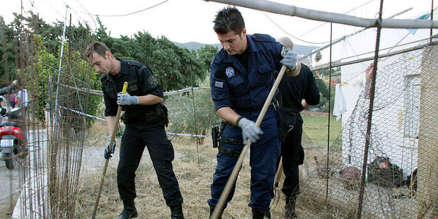 British and Greek police continue the search for Ben Needham, who went missing 21 years ago in Kos, Greece. Photo / Getty Images