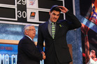 Steven Adams was a standout from the 2013 NBA draft class, and is in line to out-do all his classmates with a new, maximum-level contract. Photo / Getty