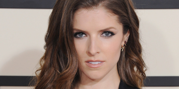 Actress Anna Kendrick arrives at the 57th GRAMMY Awards at Staples Center on February 8, 2015 in Los Angeles. Photo / Getty