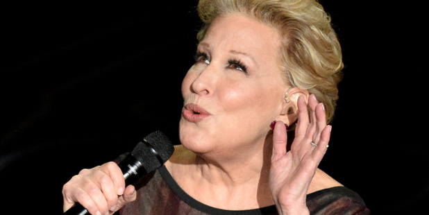 Actress/singer Bette Midler performs onstage during the Oscars at the Dolby Theatre on March 2, 2014 in Hollywood, California. Photo / Getty