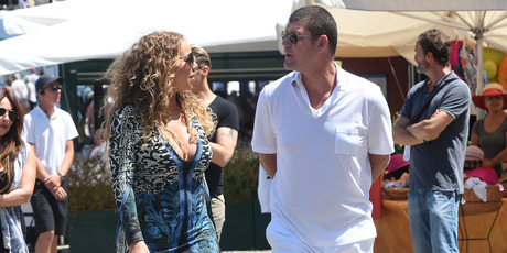 Mariah Carey And James Packer are seen on June 26, 2015 in Portofino. Photo / Getty