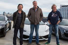(L-R) Richard Hammond, Jeremy Clarkson and James May are all starring in The Grand Tour. Photo / Getty