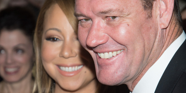 Singer Mariah Carey (L) and James Packer attends The Intern at the Ziegfeld Theater on September 21, 2015 in New York City. Photo / Getty