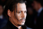 Johnny Depp attends the Black Mass Virgin Atlantic Gala screening during the BFI London Film Festival, at Odeon Leicester Square on October 11, 2015. Photo / Getty