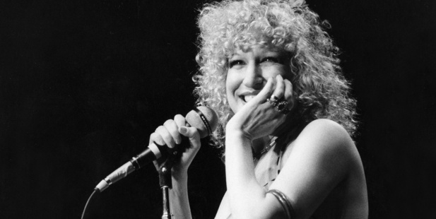 A portrait of Bette Midler performing. Photo / Getty