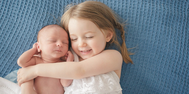 The findings suggest that birth order differences can start before the age of three. Photo / Getty