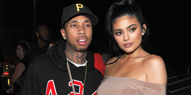 Tyga (L) and Kylie Jenner attend Boohoo X Jordyn Woods Launch Event at NeueHouse Hollywood on August 31, 2016 in Los Angeles, California. Photo / Getty