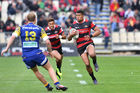 Nathan Earle playing for Canterbury in 2016. Photo / Getty Images