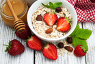 Fruit and whole grain cereals are great breakfast foods. Photo / Getty Images