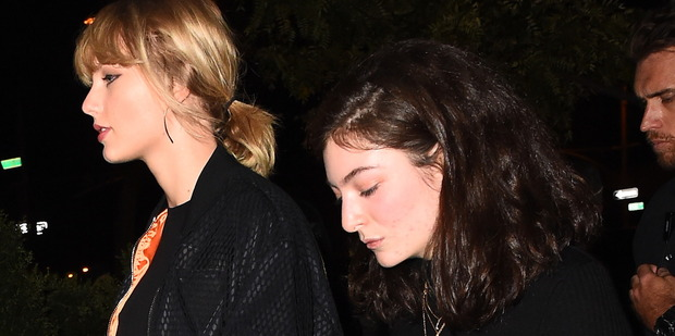 Taylor Swift and Lorde seen on October 12, 2016 in New York City. Photo / Getty