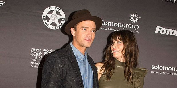 Justin Timberlake and Jessica Biel. Photo / Getty Images