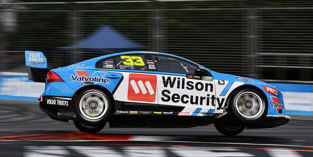 Scott McLaughlin during race 23 of the Supercars Gold Coast 600. Photo / Getty Images