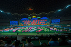 The Rungrado 1st of May Stadium in Pyongyang is the biggest stadium in the world. Photo / Getty
