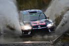 Andreas Mikkelsen during Wales Rally GB. Photo / Getty Images