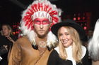 Singer Hilary Duff and boyfriend Jason Walsh are in trouble after their costume choice for Friday's party. Photo / Getty Images