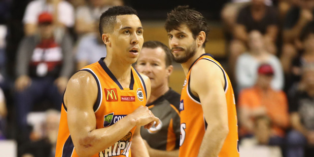 Travis Trice of the Taipans during the round four NBL match against Illawarra Hawks. Photo / Getty Images
