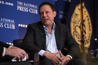 Entrepreneur Peter Thiel participates in a discussion at the National Press Club on October 31, 2016 in Washington, DC. Photo / Getty