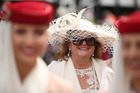 Gina Rinehart attends the Emirates Marquee on Melbourne Cup Day at Flemington Racecourse. Photo / Getty Images