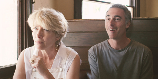Emma Thompson and Greg Wise in season three of High Road.