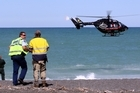 A man drowned in high swells this afternoon in Napier.