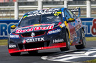 Shane van Gisbergen during the ITM Auckland SuperSprint at Pukekohe Park Raceway. Photo / Matthew Hansen