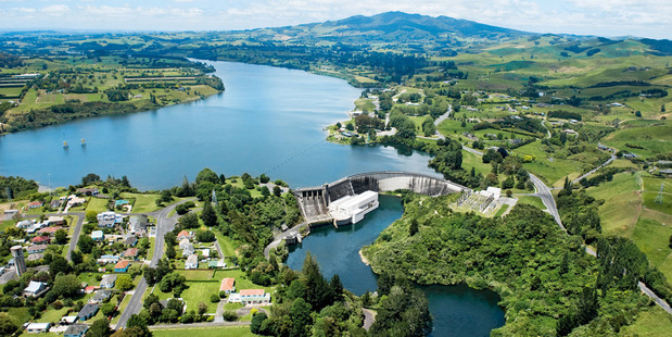 Mercury's Karapiro Hydro Station. Photo / File