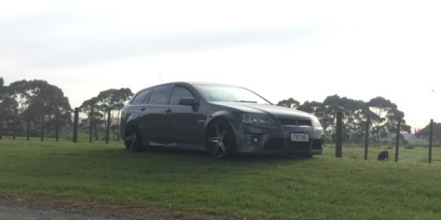 The victim was allegedly forced into the back seat of his own car (pictured), and repeatedly assaulted and knocked unconscious as he was driven around greater Auckland. Photo / police