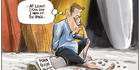 View: Cartoon: David Cunliffe throws in the towel