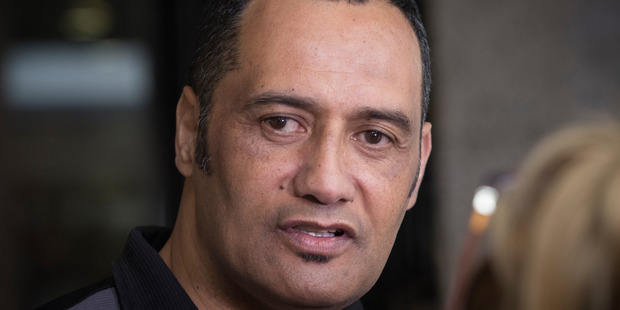 Inspector Hurimoana Dennis has pleaded not guilty on two counts of kidnapping at Auckland District Court today. Photo / Greg Bowker