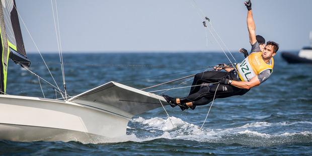 Blair Tuke. Photo/World Sailing
