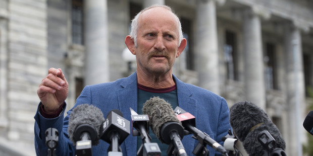 Loading Businessman Gareth Morgan announcing the formation of the Opportunity Party during his media conference at Parliament, Wellington. Photo / Mark Mitchell