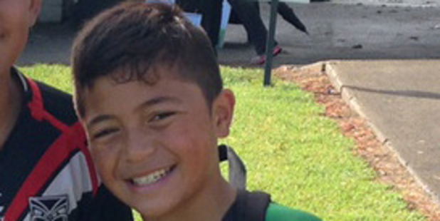 East Coast Bays rugby league under-12s player Tyryce McGuire, 12, was critically injured in a scooter crash on Thursday. Photo / Supplied