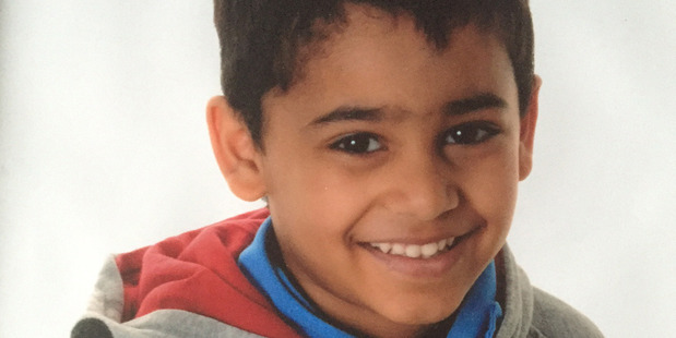 Nine-year-old Aryan Banerjee died from critical head injuries, four months after the incident. Photo / Supplied
